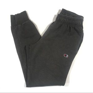 Champion Gray Sweatpants Small Joggers Sweats Grey